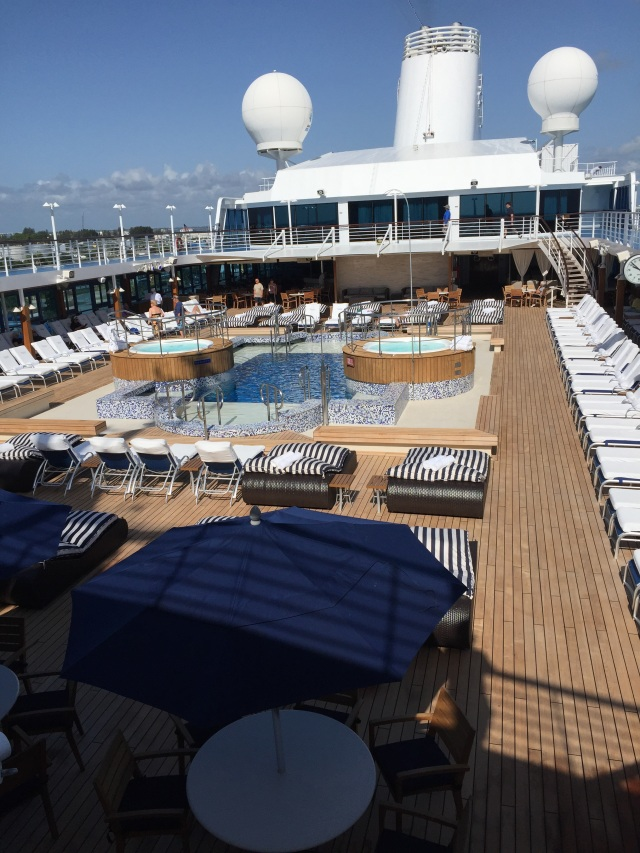 Pool on the ship