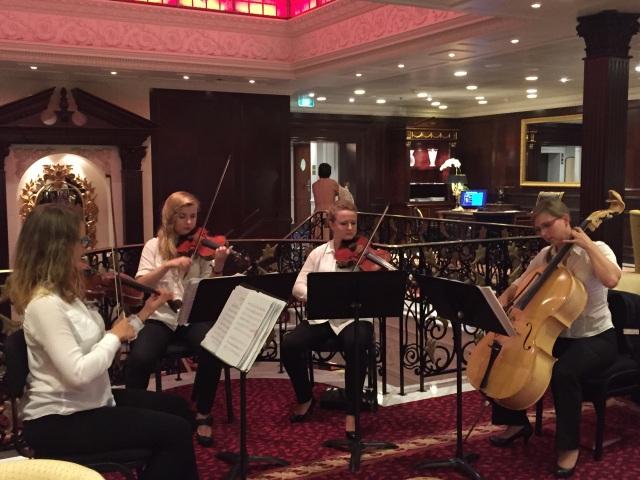 String quartet at work