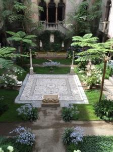 Courtyard at Isabella Stewart Gardner Museum