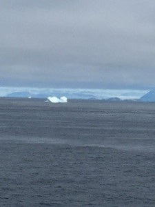 Iceberg off of Greenland
