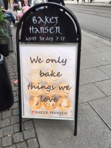 At a Norwegian bakery