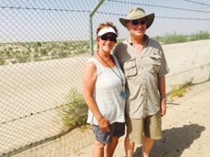 at camel track