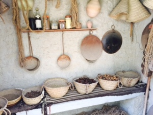 pans at museum